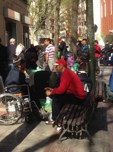 Posible desalojo en la calle Marqués de Zafra