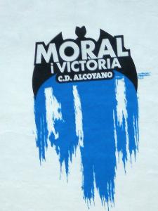 ¡Hay que tener más moral que el Alcoyano!
