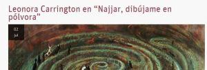 Artículo en la Escuela de Humanidades sobre Najjar, dibújamen en pólvora