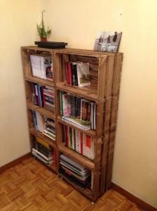 Los libros siempre precisan un lugar de dignidad donde reposar el lomo