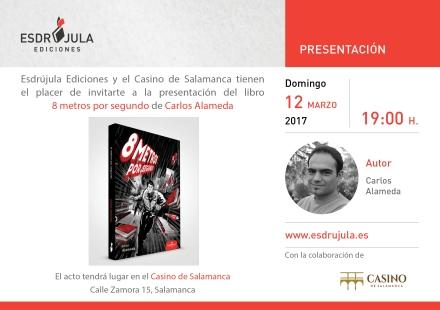 Tarjeta Presentacion A5 8metros Salamanca