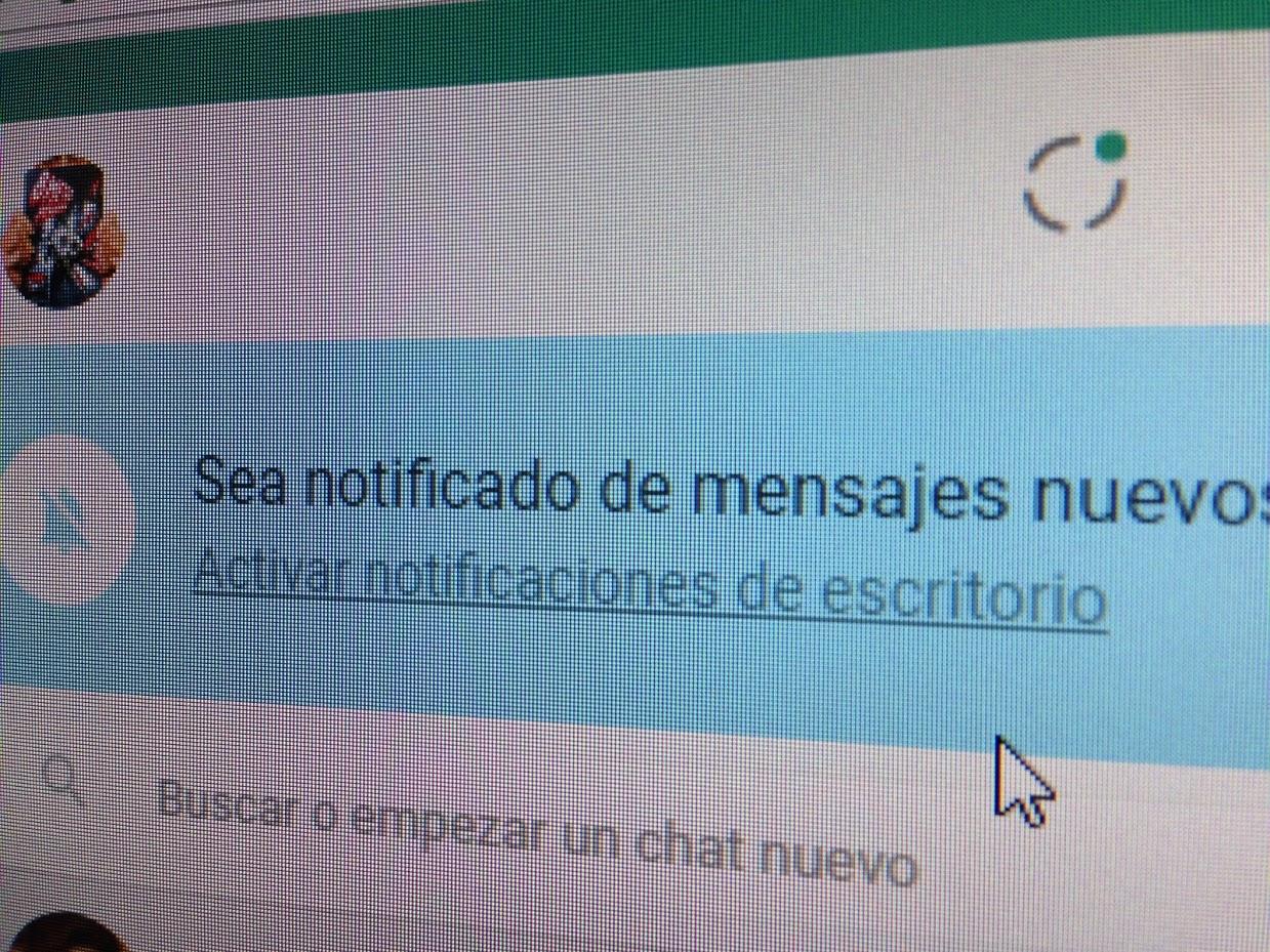 """""""Sea notificado"""", curiosa expresión de Whatsapp..."""