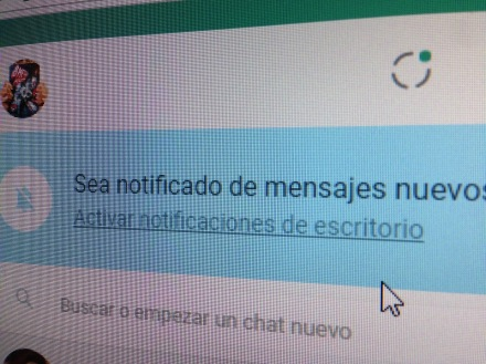 """Sea notificado"", curiosa expresión de Whatsapp..."