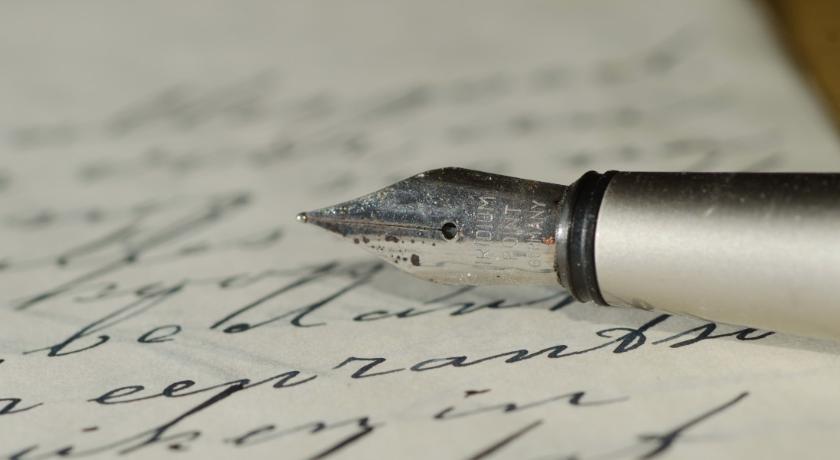Pluma de escribir